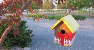 Fuglehuse og foderbræt kan gøre stor forskel i haven